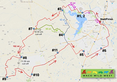 WWW100 course map