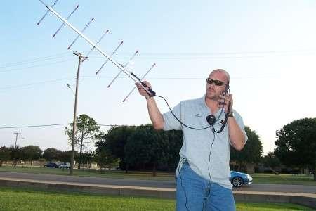 Amateur satellite communication
