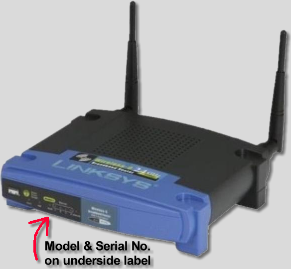 typical linksys router